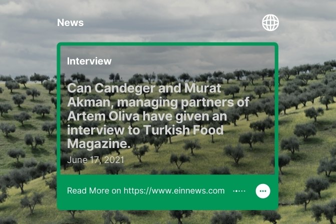 """News: """"An Interview with the Managing Partners of Artem Oliva"""""""