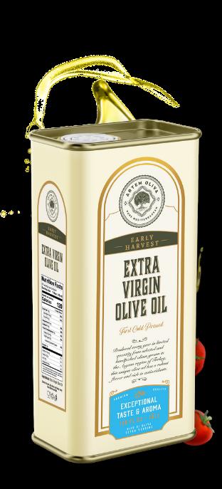 Artem Oliva Early Harvest Extra Virgin Olive Oil in 5LT Tin Can (2)