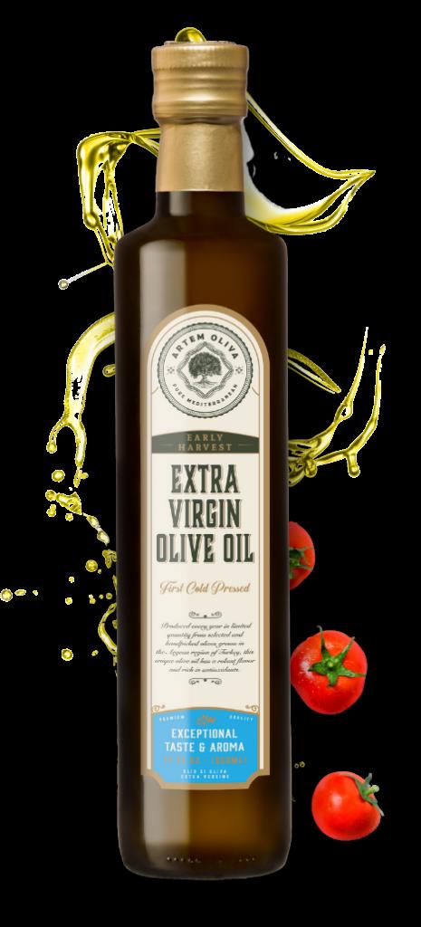 Artem Oliva Early Harvest Extra Virgin Olive Oil in Dorica Bottle