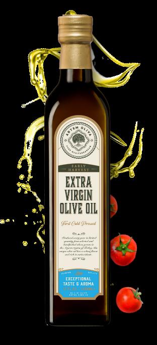 Artem Oliva Early Harvest Extra Virgin Olive Oil in Marasca Bottle (2)