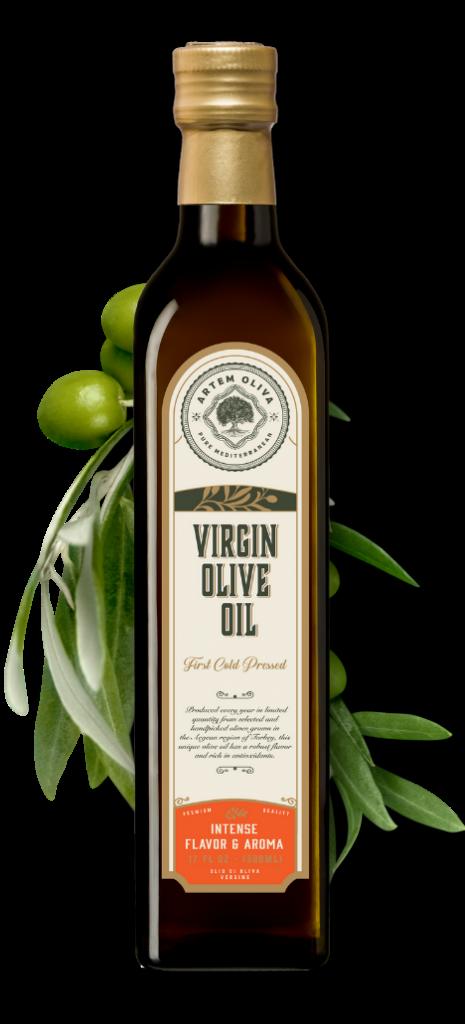 Artem Oliva Virgin Olive Oil in Marasca Bottle