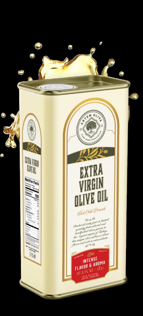 Artem Oliva Extra Virgin Olive Oil in 5LT Tin Can