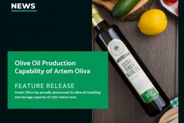 "News: ""Olive Oil Production Capability of Artem Oliva"""